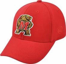 Maryland Terrapins Mens TOTW Premium Collection Memory Fit Hat Cap - M/L - NWT - $14.49