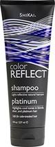 Shikai Color Reflect Platinum Shampoo, 8-Ounce Tubes Pack of 3