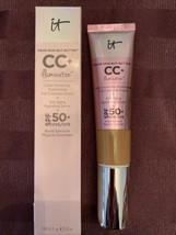 IT Cosmetics Illumination CC Color Correct Full Coverage Cream Serum SPF 50 DEEP - $30.69