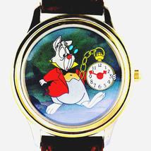 Alice In Wonderland Disney 'White Rabbit Pocket Watch I'm Late err' Unwo... - $247.35