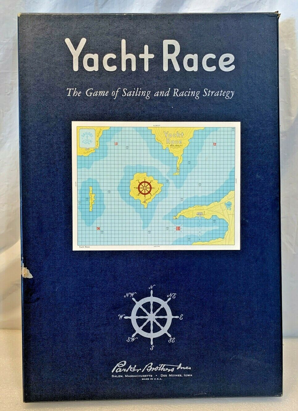 Primary image for Vintage Parker Brothers 1961 Yacht Race Board game..Complete...EX CONDITION RARE