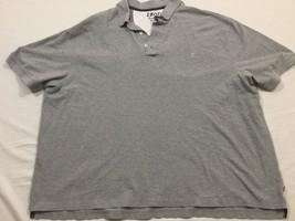 M126 Izod Heritage Polo Gray Casual Shirt Men's 3XL - $14.80