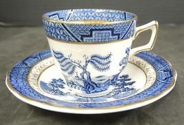 Vintage Royal Doulton Gold Trim Demitasse Cup & Saucer * Booths Real Old... - $9.50