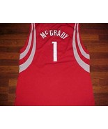 Tracy McGrady 1 Houston Rockets HOF NBA Reebok 2003/04 Swingman Red Jers... - $59.39