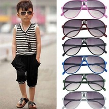 Kids Sunglasses Aviator Style Design Childrens Boys Glasses UV 400 Prote... - $14.09