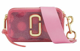 Marc Jacobs Jelly Glitter Snapshot Camera Bag Crossbody Pouch Clutch ~NW... - $272.25