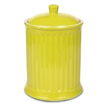Omniware Simsbury Extra Large Yellow Ceramic 120 Ounce Cookie Jar - $46.93