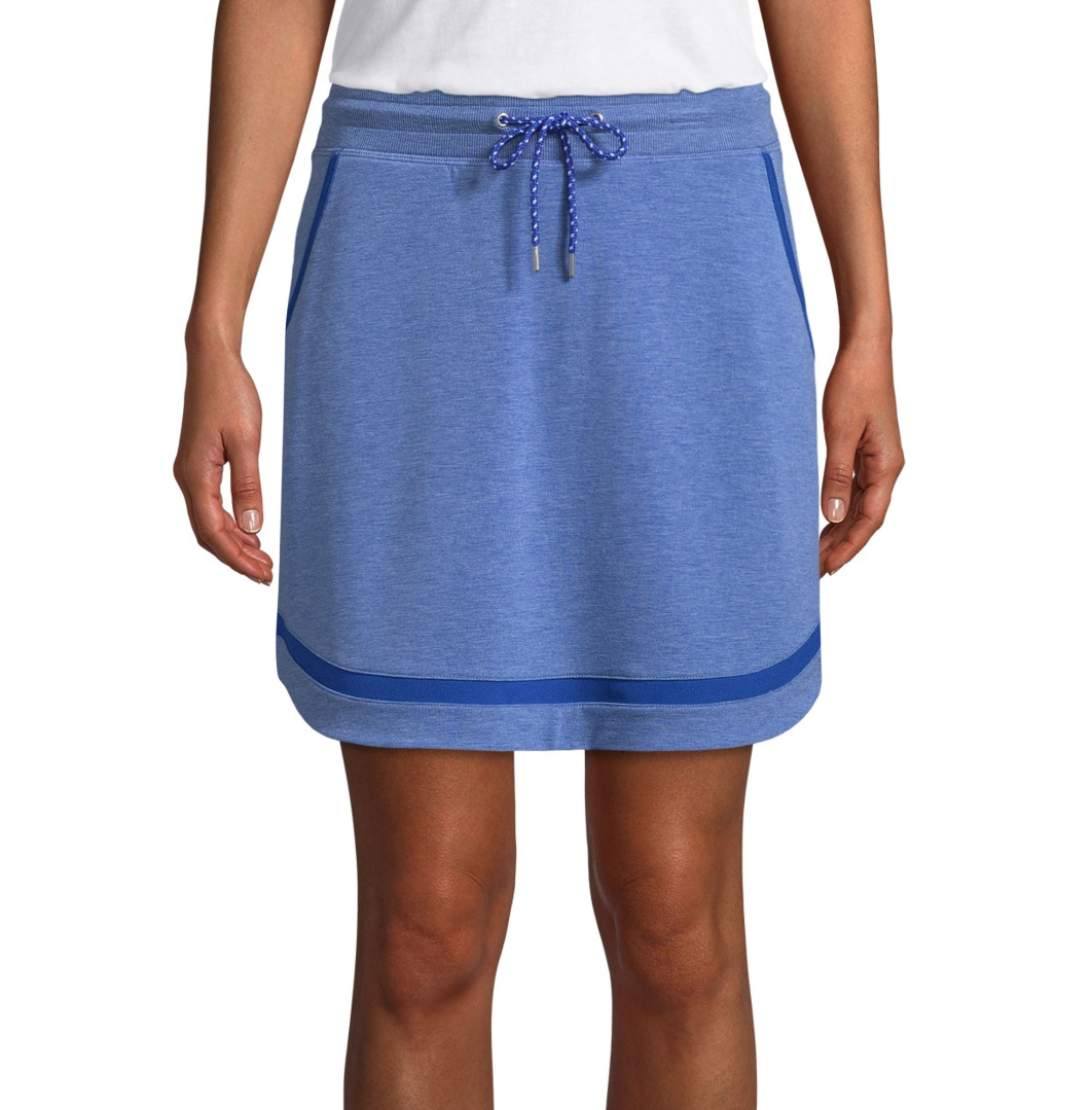 St. John's Bay Active Woven Skorts Racing Blue Size S, M, L New Msrp $32