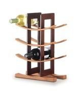 Bamboo Wine Rack Espresso Acc. - $19.10