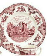 Johnson Brothers OLD BRITAIN CASTLES PINK DINNER PLATES (s) - $34.64