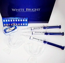WHITE BRIGHT - Teeth Whitening System - Whitening Gel System 789185693107 - $19.99