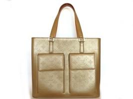 Authentic LOUIS VUITTON Monogram Willwood Amber Tote Shoulder Bag - $313.44