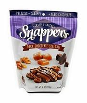 Snappers Dark Chocolate Sea Salt, 6 Ounce - Pack of 2 - $11.20