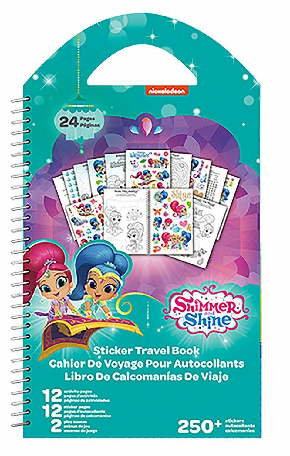 Primary image for Nickelodean Shimmer and Shine Travel Book with Stickers
