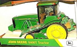 John Deere 8400T Tractor MFWD Replica w/ Box 1/16 Scale Collectors Edition AA20- image 2