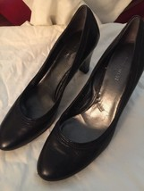 Nine West 9 Black Pump Shoes (tx) - $15.25