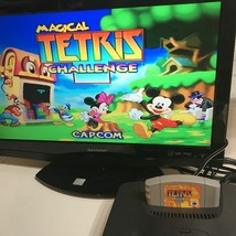 Nintendo 64 Disney Magical Tetris Challenge Video Game Cartridge ONLY - 1997 - $20.00