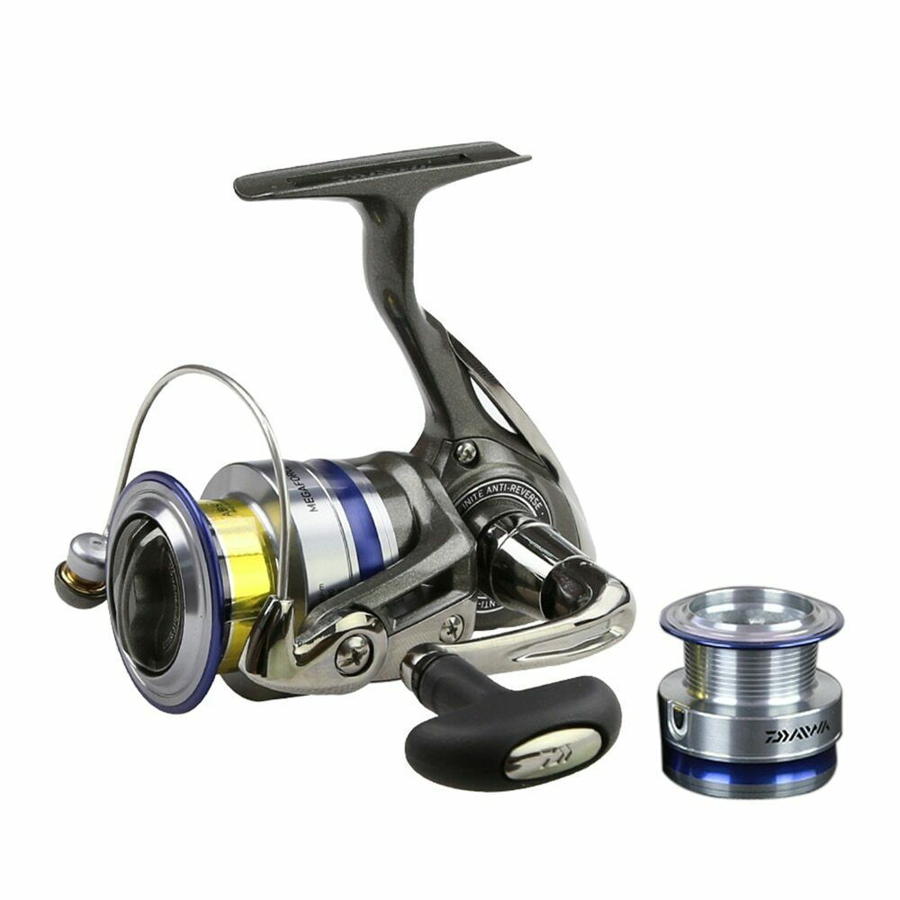4343261693f ENJOY® Daiwa Spinning Fishing Reel Left/Right Interchangeable Handle  Spinning - $55.74 - $60.22