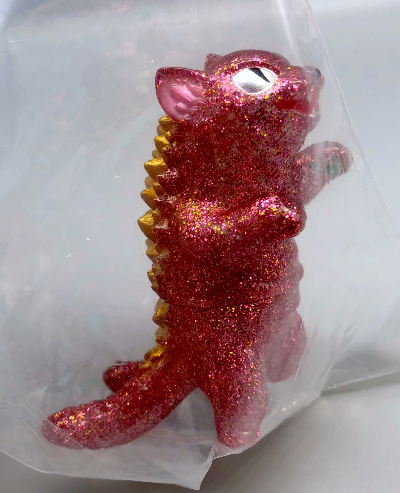 Max Toy Pink/Gold Glitter Negora Rare Mint in Bag