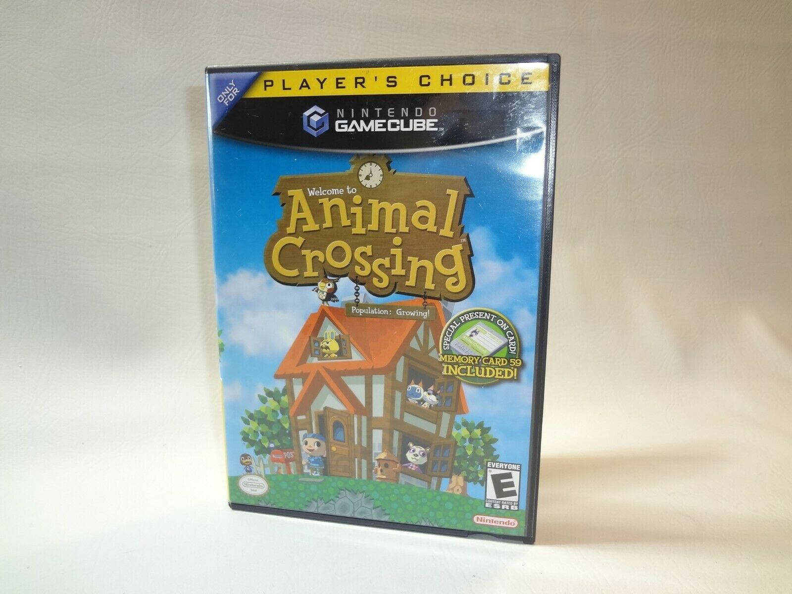 Animal Crossing (Nintendo GameCube, 2002) CIB