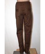 LEE Platinum Label Women's 12 Short Brown Classic Fit Straight Leg Jeans... - $27.08