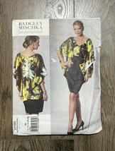 Badgley Mischka Vogue Patterns V1195 Misses Dress Top Belt 14- 16-18-20-... - $7.13