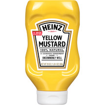 Heinz Yellow Mustard, 20 oz. Bottle - $4.00