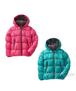NWT Old Navy Girl Frost-Free Quilted Jacket Hooded Winter Puffer Coat XS... - $54.99
