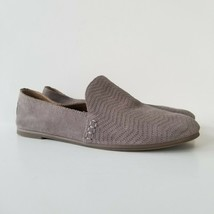 Lucky Brand Cattina Womens Shoes 7 M Suede Taupe Slip On Loafers Comfort... - $15.47