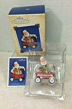 2004 Toymaker Santa #5 Hallmark Christmas Tree Ornament MIB Price Tag - $39.11