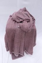 Baby Alpaca Blanket Throw Indian Cashmere Blanket Reversible Blanket Sha... - $87.35