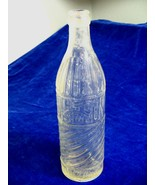 Antique Alamo Bottling Works Balloon Size Clear Glass Soda Bottle 15 Oun... - $21.29