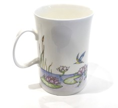 Dunoon Cherry Denman Lily Ponds 8oz. Coffee/Tea Cup England - $24.99