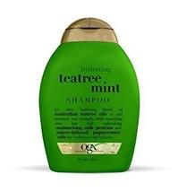 OGX Shampoo, Hydrating TeaTree Mint, 13oz - Pack of 2 - $30.68