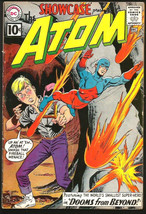 Showcase #35 Atom DC Comics Fine -/+ range 1961 Silver Age - $175.00
