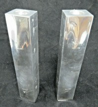 Nambe Relief 8-Inch Candlestick, Pair AP5 - $28.50