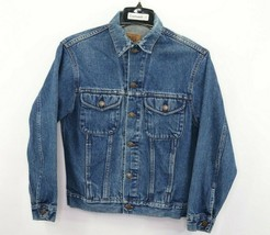 Vintage 90s Gap Denim Mens XS Casual Full Button Denim Jean Jacket Blue ... - $49.45
