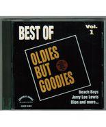 Best Of Oldies But Goodies Vol 1   CD - $3.25