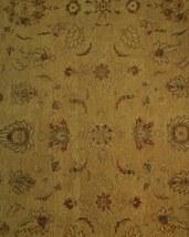 Honey Gold Wool Carpet 9' x 12' New Original Ziglar Oushak Hand-Knotted Rug image 10