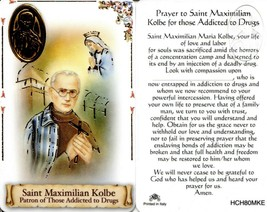 Prayer to Saint Maximilian Kolbe - EB535 - For Those Addicted to Drugs H... - $2.79