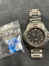 Serviced Vintage Full Size Men's Tag Heuer 999.206A 4000 Watch Silver Gray - $399.99