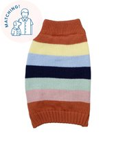 Retro Stripe Sweater - Matching Sizes Dogs + Humans - $101.75+