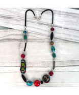 Exotic Gallery Collection Linked Bead Long Necklace by Treska - $37.90