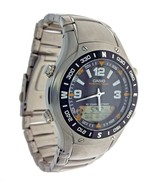 New Casio AMW-701D-1AV Hunting Timer Phase Data Dual Time 100M Water Res... - $112.14