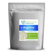 L-ARGININE HCL 500MG - MUSCLE PUMP NITRIC OXIDE CAPSULES WEIGHT LOSS DIE... - $5.11