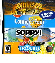 Nintendo DS - Battleship/Connect Four/Sorry!/Trouble Complete four games in one  image 5