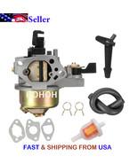 Carburetor Carb for HONDA GX160 5.5HP GX200  W/ Fuel Pipe & Gasket 16100-ZH8-W61 - $15.74