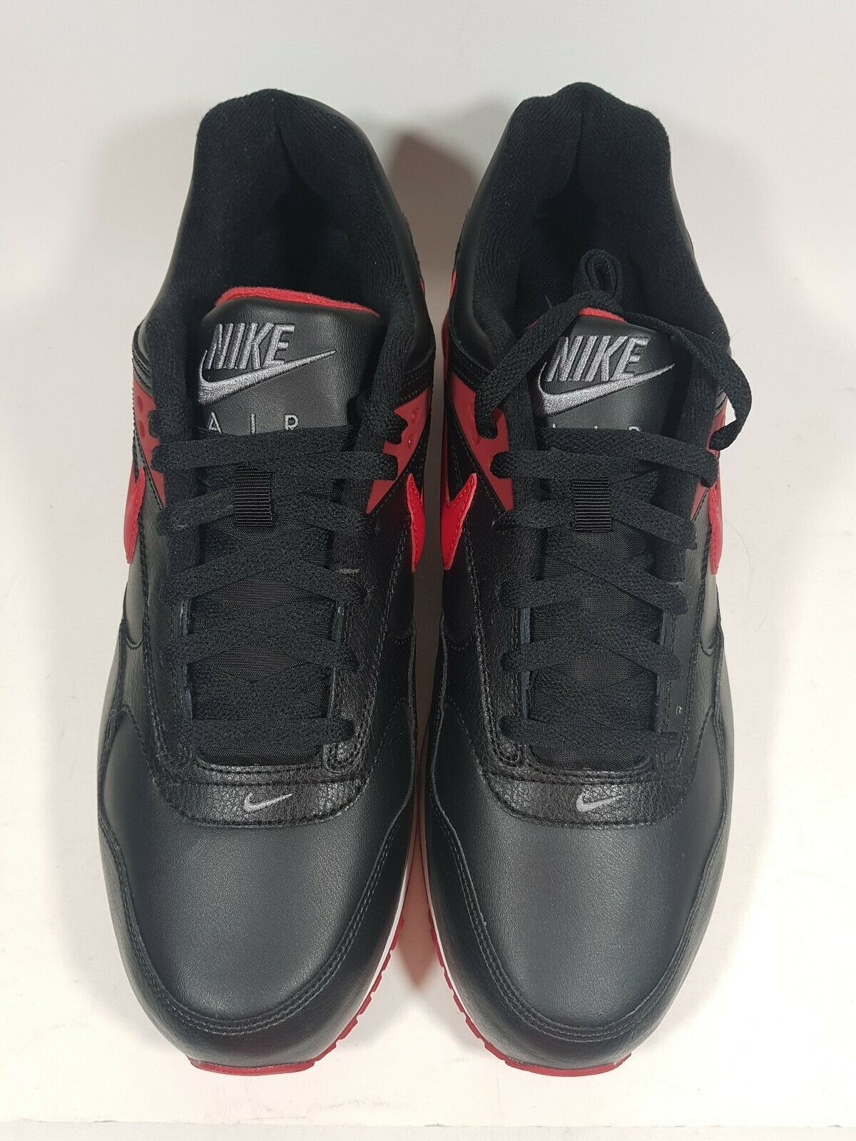 New Nike Air MAx Correlate Leather Running Black 518292 060 Mens Shoes 13 Rare image 4