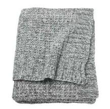 "Ikea DUNÄNG Throw 130 x 180 cm / 51"" x 71""  Soft Grey New 40% Wool Duran... - $58.15"