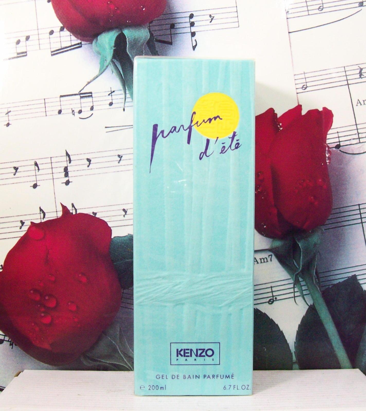 Kenzo Parfum D'Ete Shower Gel 6.7 FL. OZ. NWB. Vintage - $59.99